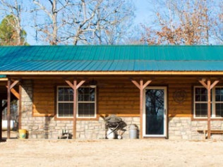 log cabin builders broken bow ok